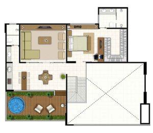 17 - Icone residence, 3 quartos,3 suites,jardim goias, goiania,parque,flamboyant,tel.,apartamento