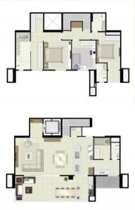 23 - apt maior duplex