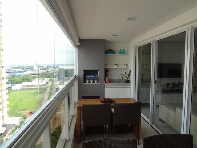 Apartamento 3 quartos 3 suites jardim goias a venda em goiania